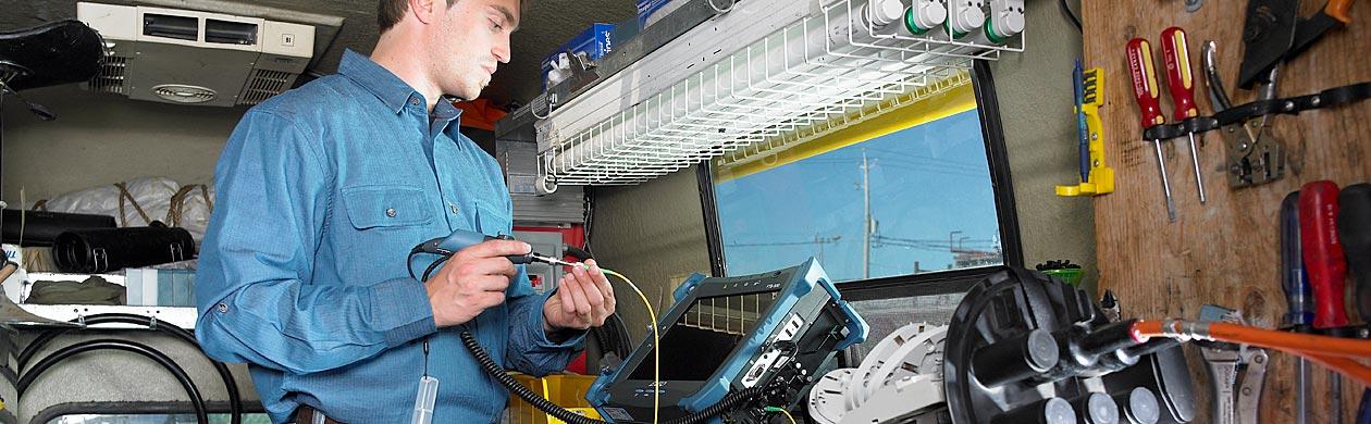 Leasen und Mieten von Spleiss- und Messtechnik bei Opternus