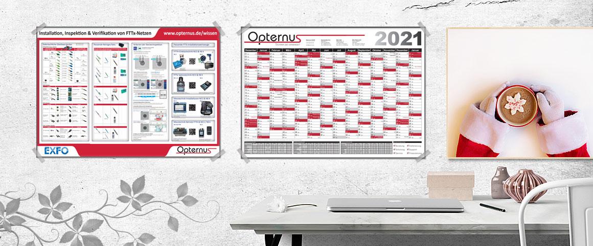 Opternus Jahreskalender 2021