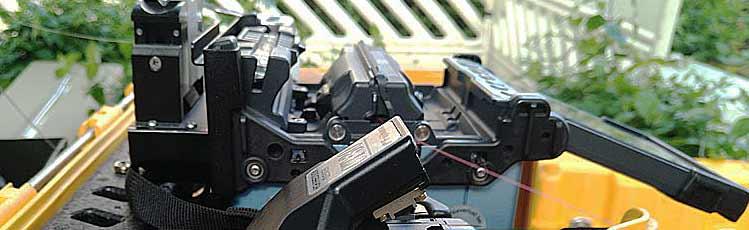 Mieten von Spleiss- und Messtechnik bei Opternus